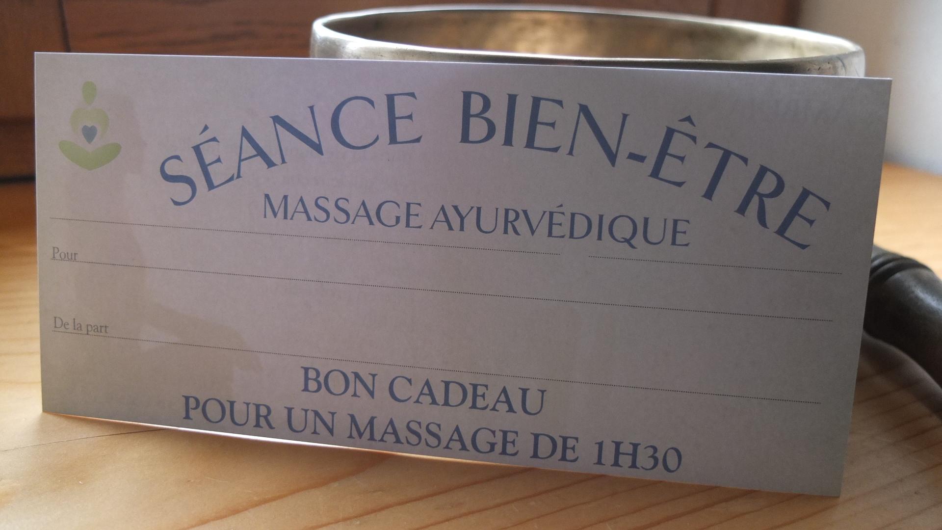 Offrir un massage bien-être pour Noël // AMBUJA MA