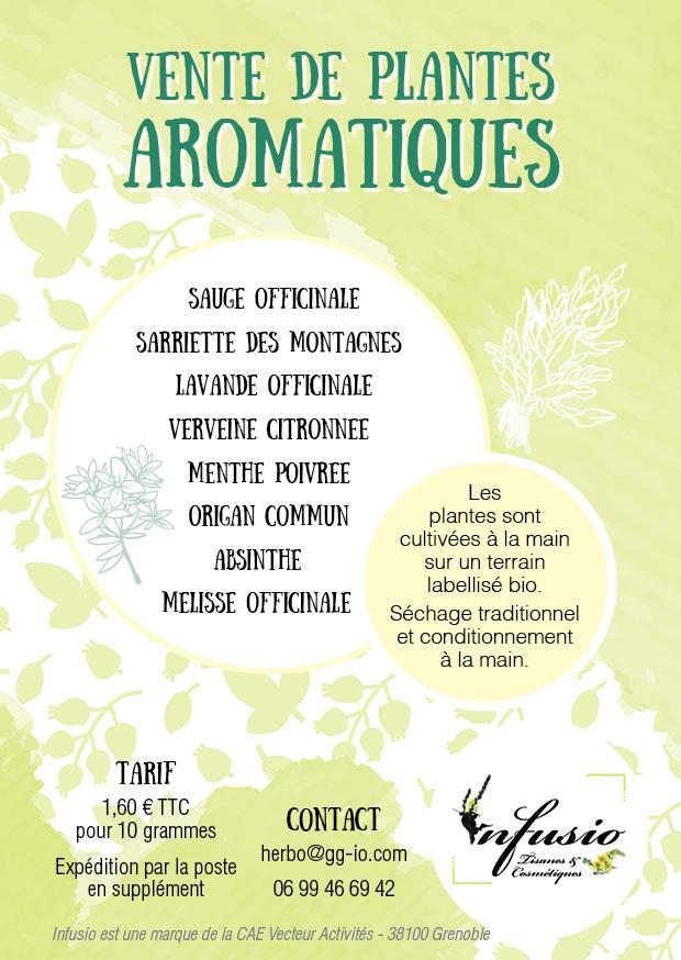 Vente de plantes aromatiques